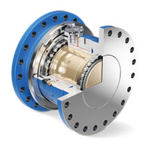 Friction torque limiter / mechanical / safety / steel