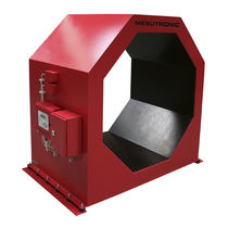 Tunnel type metal detector / for the wood industry