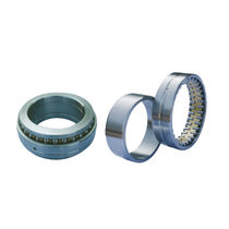 Cylindrical roller bearing / double-row / steel / precision