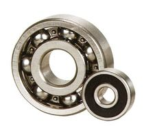 Ball bearing / deep groove / steel