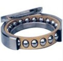 Ball bearing / angular-contact / steel