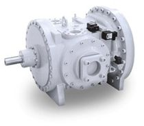 Open refrigeration compressor / screw / industrial