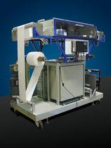 Plasma surface treatment machine / for film / atmospheric