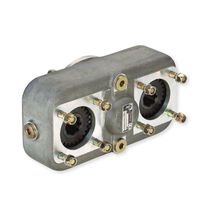 Parallel-shaft gear reducer / dual-shaft / for pumps