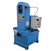 Flat grinding machine / for tubes / for metal sheets