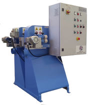 Double grinding/satin machine / orbital / automatic / for metal sheets