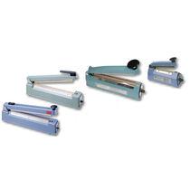 Sachet impulse sealer / manual / table-top