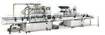 Linear filler-capper / centrifugal / dairy products / beverage