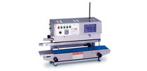 Continuous heat sealer / semi-automatic / sachet / rotary