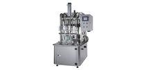Bottle filling machine / semi-automatic / in-line / liquid