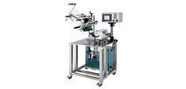Semi-automatic labelling machine / 2-label / wrap-around