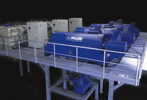 Centrifugal decanter / horizontal / for sludge dewatering