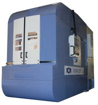 4-axis CNC horizontal machining center 600 x 650 x 800 mm | Concept 4 Axes 2g MCM Machining Centers Manufacturing