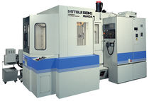 4-axis CNC horizontal machining center with integrated pallet changer 560 x 560 x 560 mm | HU40A MITSUI SEIKI
