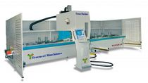 4-axis CNC vertical machining center for aluminum and PVC sections max. 9 000 x 680 x 300 mm | Venezia series Ferracci Machines USA