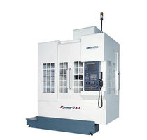 "4-axis CNC vertical machining center for large parts max. 20 x 14 x 18.1""� 
