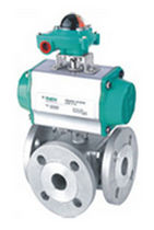 4-way ball valve  Kingdom Flow Control Co
