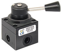 4-way hydraulic directional control valve max. 250 psi, 3 gpm Vektek