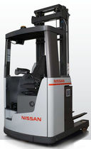 4-way sit-on electric reach truck 2 000 - 2 500 kg | UFS series Nissan Forklift Europe