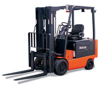 4-wheel electric forklift truck 4 500 - 7 000 lb Doosan Infracore America Corporation