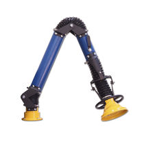 Welding fume extraction arm / fixed / rigid