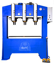 Hydraulic press / forming / punching / with fixed table