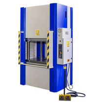 Hydraulic press / straightening / for production / four column