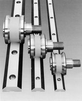 Stainless steel linear guide / for heavy-duty loads / track