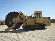 Rockwheel trencher / tracked