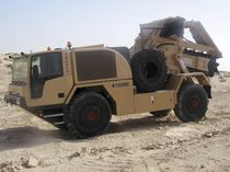 Chain trencher / rubber-tired