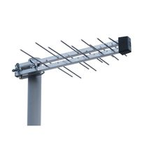 UHF antenna / log-periodic / directional / active