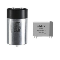 Metalized polypropylene film capacitor / radial / cylindrical / DC-link