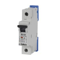 Low-voltage disconnect switch / DIN rail