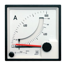 Current meter / bimetal / with maximeter / combined