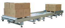 Belt conveyor / horizontal / for boxes