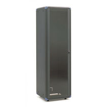 "Electric cabinet / floor-mounted / 19"" rack / metal"