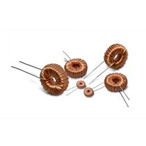 Magnetic coil / common mode / toroidal / for electronics