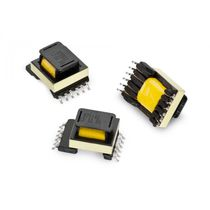 Electrical power supply transformer / laminated / SMD / DC