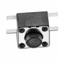 Single-pole micro-switch / stainless steel / electromechanical / momentary