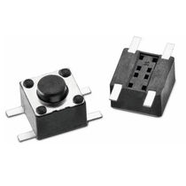 Momentary micro-switch / single-pole / stainless steel