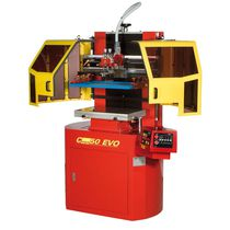 Cast screen printing machine / one-color