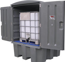 PE crate / storage / for industrial use / secure
