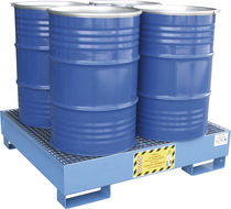 Multi-use containment bund / 4-drum / steel