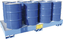 Multi-use containment bund / 8-drum / steel
