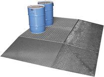Steel spill platform