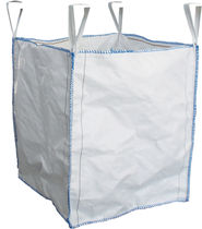 Big bag with fabric oil filter