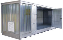 Intermodal storage container / safety / hazardous materials
