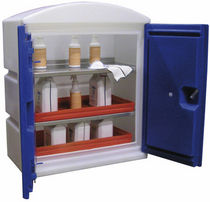 Workshop cabinet / free-standing / double-door / polypropylene