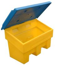 Polyethylene container / sand / grit / storage