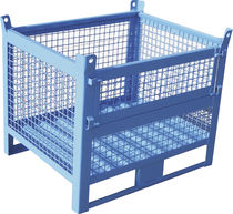 Metal crate / wire mesh / storage / stackable
